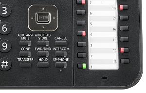 Manažérský digitální telefon Panasonic KX-DT543 B