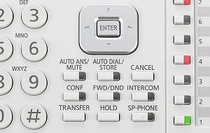 Manažérský digitální telefon Panasonic KX-DT546